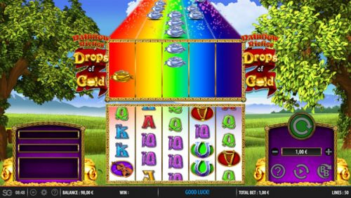 new slot 2018: rainbow riches drops of gold