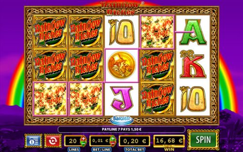 best slots by Barcrest: Rainbow Riches slots
