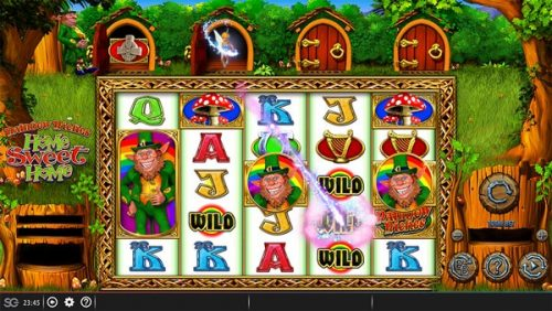 New barcrest slot that came out in 2018: rainbow riches home sweet home