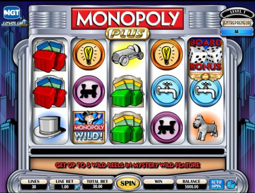 Monopoly slots like Monopoly plus fruit machine