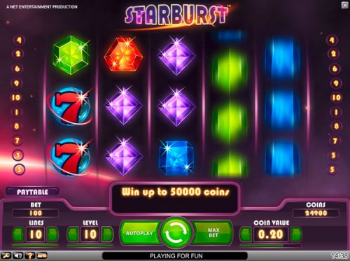 best online slots in the UK like Starburst