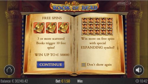 book of deal slot review