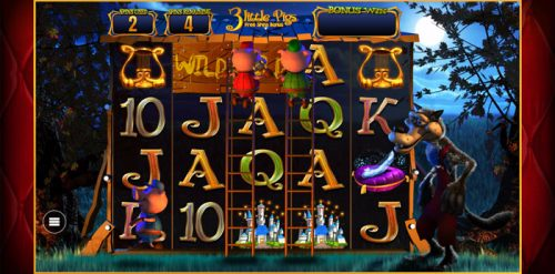 Wish Upon a Jackpot 3 Little Pigs Free Spins