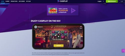 Play on-the-go at Casiplay
