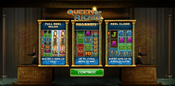Queen of Riches slot review at Labslots