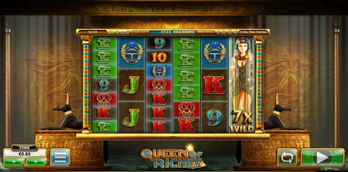 Find the best online casinos to play Queen of Riches