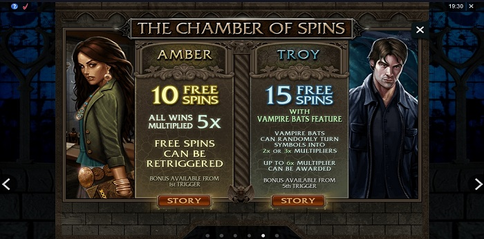 Immortal Romance The Chamber of Spins