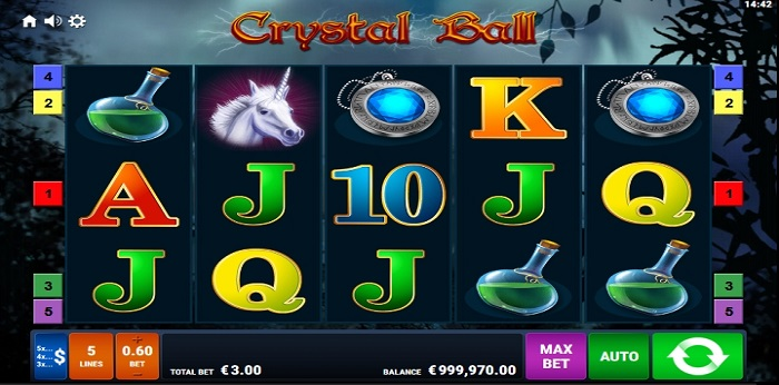 Crystal Ball Max Bet