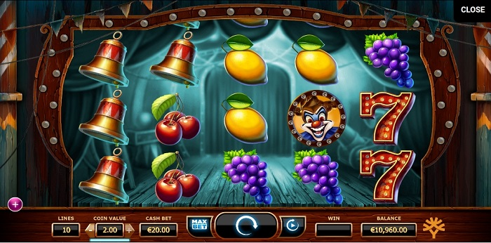 Wicked Circus Max Bet and Auto Play