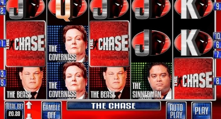 The Chase game show slot