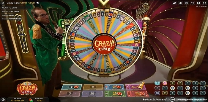 Crazy Time game show slot