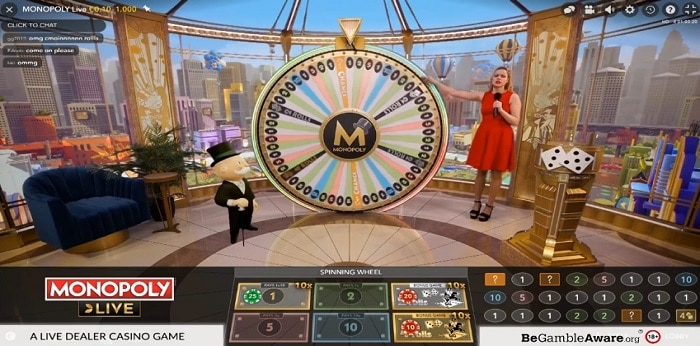MONOPOLY Live Game features