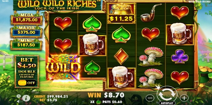 Wild Wild Riches big win