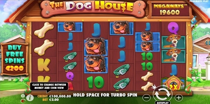 The Dog House Megaways Turbo Spin